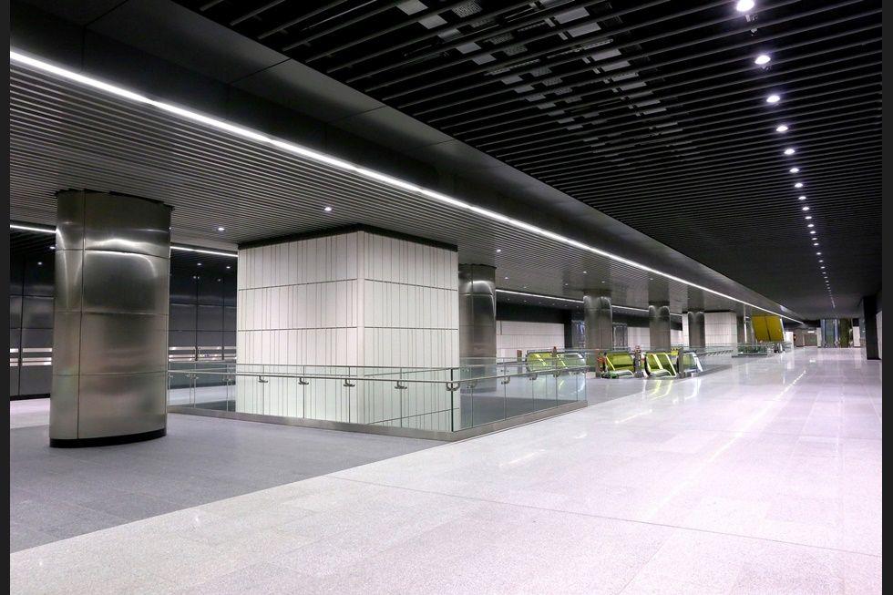 Estación Crossrail Canary Wharf