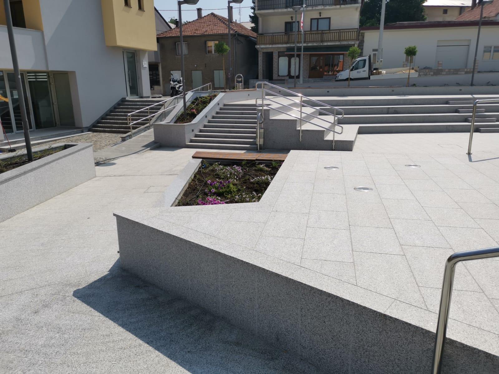 Project with Blanco Celta granite in Bosnia & Herzegovina